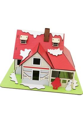 Wooden Age Ahşap Kış Evi