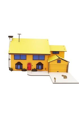 Wooden Age Ahşap Simpson Evi