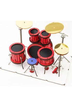 Wooden Age Ahşap Drum Kit