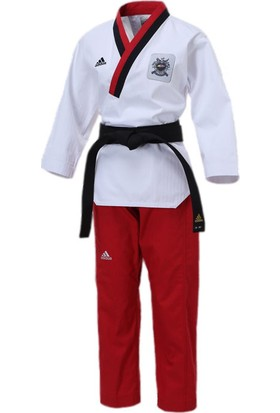 Adidas AdiTPYF01 Poomsae Taekwondo Elbisesi Bayan
