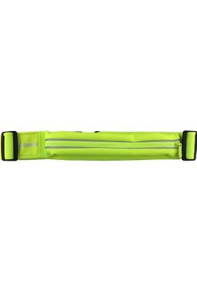 Romix Kemerli Tek Cep Bel Çantası- Yeşil