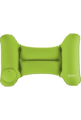Romix Hafif Katlanabilir Sırt Yastığı- Yeşil