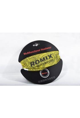 Romix Kalın Ağız Yüz Maskesi- Siyah