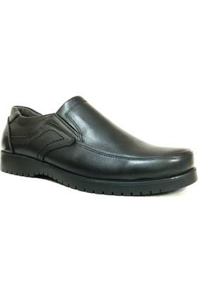 Realities 202 Siyah Bağcıksız Comfort Erkek Ayakkabı