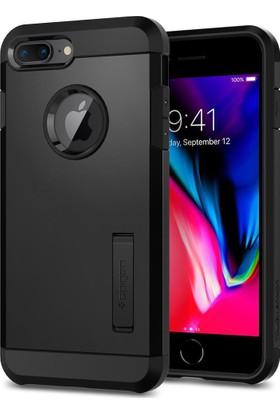 Spigen Apple iPhone 8 Plus - iPhone 7 Plus Kılıf Tough Armor 2 Black - 055CS22246