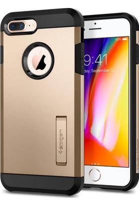 Spigen Apple iPhone 8 Plus - iPhone 7 Plus Kılıf Tough Armor 2 Champagne Gold - 055CS22248