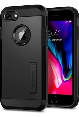 Spigen Apple iPhone 8 - iPhone 7 Kılıf Tough Armor 2 Black - 054CS22216