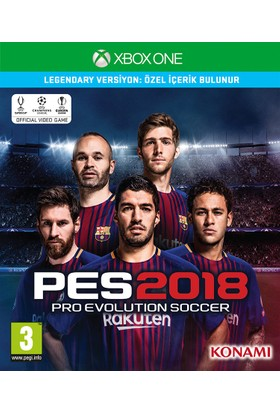 Xbox One Pes 2018 Legendary Edıtıon