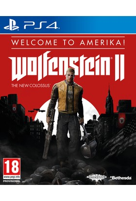 Ps4 Wolfensteın Iı: The New Colossus