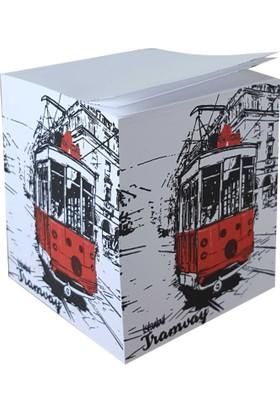 Direktal Bloknot-İstanbul Tramvay-Küp Notluk