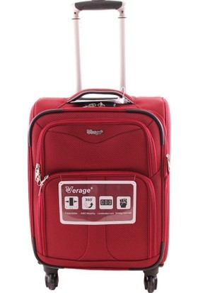 Verage Wt681627W Büyük Boy Kumaş Valiz Kırmızı