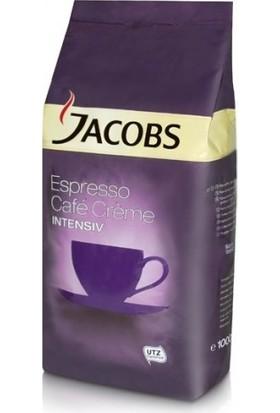 Jacobs Espresso Cafe Creme Intensiv Çekirdek Kahve - 1000 g