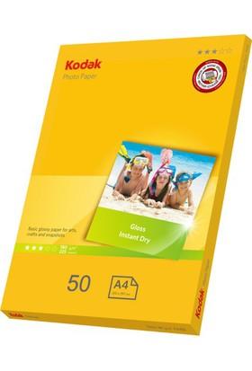 Kodak 180 Gr/m2 20x30-A4 Parlak Fotoğraf Kağıdı - 50 Adet