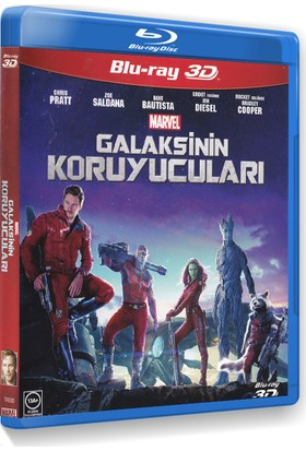 Guardians Of The Galaxy - Galaksinin Koruyucuları (3D Blu-Ray)