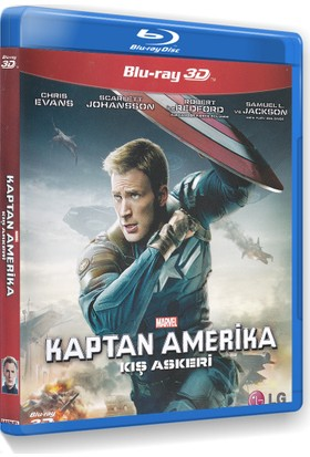 Captain America: The Winter Soldier - Kaptan Amerıka: Kış Askeri (3D Blu-Ray)