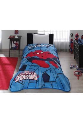 Kristal SpiderMan Web Tek Kişilik Lisanslı Battaniye