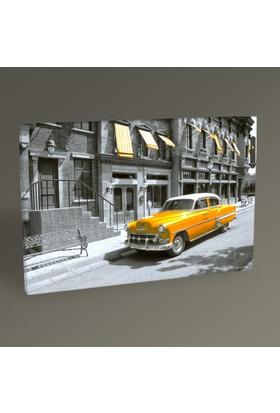 Tablo 360 Sarı Cadillac Tablo 30x20