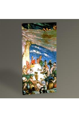 Tablo 360 - Paul Cezanne Şölen Tablo 60x30