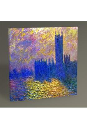 Tablo 360 - Claude Monet Fırıtınalı Gökyüzü Tablo 30X30