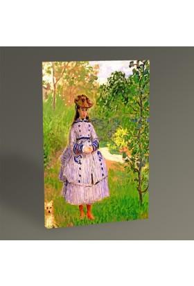 Tablo 360 - Claude Monet Madam Tablo 30x20