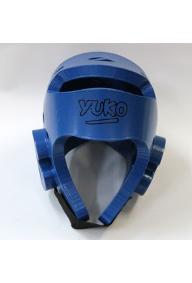 Yuko Taekwondo Kask Mavi