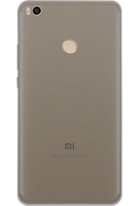 Happyshop Xiaomi Mi Max 2 Kılıf Ultra İnce Şeffaf Silikon+Cam Ekran Koruyucu