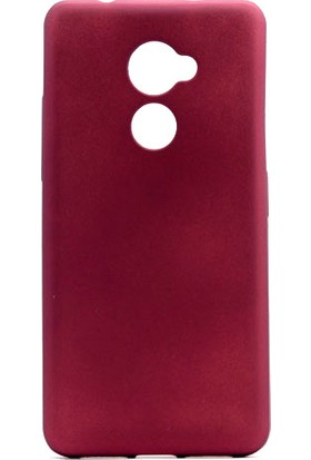 Happyshop Vodafone V8 Kılıf Ultra İnce Mat Silikon+Cam Ekran Koruyucu