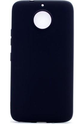 Happyshop Lenovo Moto G5S Plus Kılıf Ultra İnce Mat Silikon+Cam Ekran Koruyucu