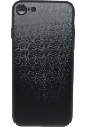 Baseus Apple iPhone 7 Plus Siyah Arka Kapak + Cam Ekran Koruyucu