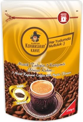 Kervansaray 7 Karışımlı Kakuleli Kahve