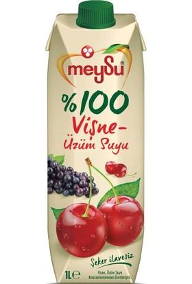 Meysu %100 Vişne-Üzüm Suyu 1 Lt