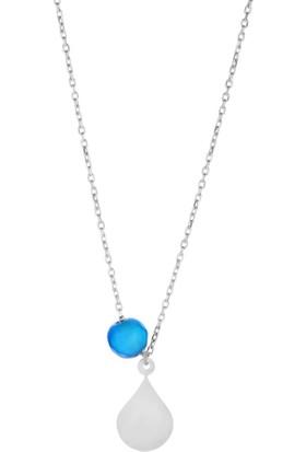 Azuris 925 Ayar Gümüş Balon Kolye Rchalk1416