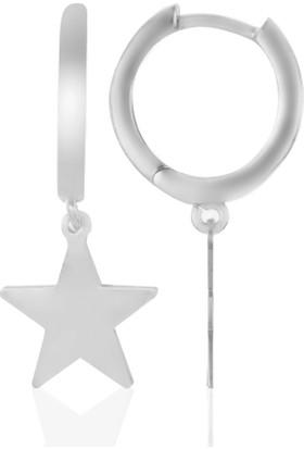Azuris 925 Ayar Gümüş Yıldız Küpe Rchalk2026