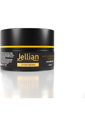 Jellian Soyulabilir Siyah Maske