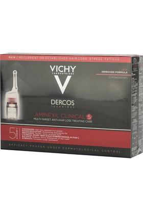 Vichy Aminexil Clinical 5 Serum (Erkek) 6 Ml Ampul - Saç Dökülmesi