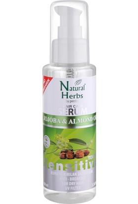 Natural Herbs Jojoba Badem Yağı Saç Serumu 100 ML