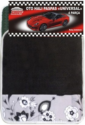 Autokıt Halı Paspas Desenli
