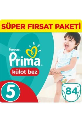 Prima Pants Külot Bebek Bezi 5 Beden Junior Süper Fırsat Paketi 84 Adet
