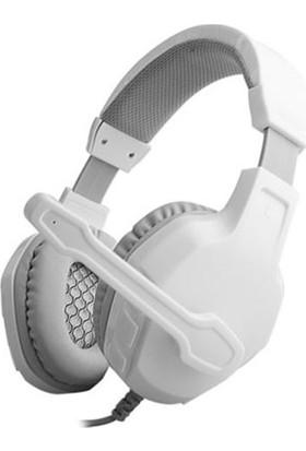 Rampage Sn-R3 Oyuncu Beyaz Mikrofonlu Kulaklık