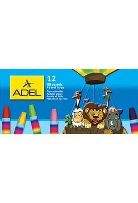 Adel Pastel Boya 12 Renk Karton Kutu