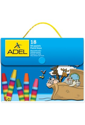Adel Pastel Boya 18 Renk Çantalı