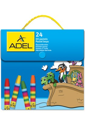 Adel Pastel Boya 24 Renk Çantalı