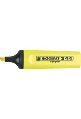 Edding Fosforlu Kalem E-344 Sarı