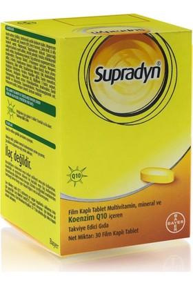 Supradyn Multivitamin Mineral Ve Koenzim Q10 30 Tablet