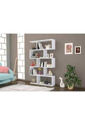 Hepsiburada Home Hepsiburada Home Nilüfer Büyük Kitaplık - Beyaz