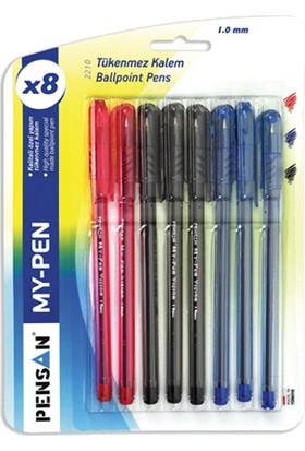 Pensan Tükenmez My Pen 1,0Mm Kırmızı