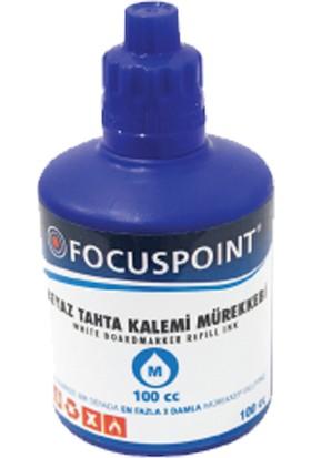 Focus Tahta Kalem Mürekkebi 100 Ml Mavi
