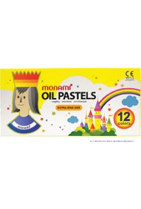 Monami Pastel Boya 12C Renk Oıl