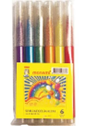 Monami Simli Keçeli Kalem 6 Renk