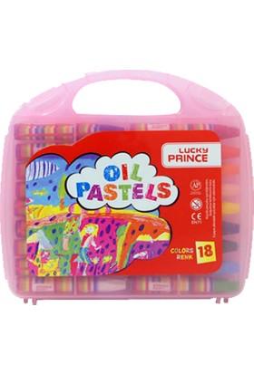 Prince Pastel Boya 18 Renk Çantalı
